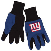 New York Giants Two Tone Gloves - Youth Size