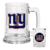 NEW YORK GIANTS GIANTS Shot Glass & Mug Set