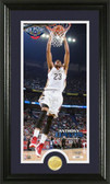 New Orleans Pelicans Anthony Davis Bronze Coin Panoramic Photo Mint