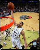 New Orleans Pelicans Anthony Davis 2013-14 Action 16x20 Stretched Canvas