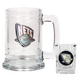 New Jersey Nets Shot Glass and Mug Set