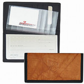 New Jersey Nets Leather/Nylon Embossed Checkbook Cover
