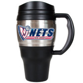 New Jersey Nets 20oz Travel Mug