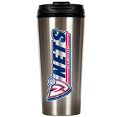 New Jersey Nets 16oz Stainless Steel Travel Tumbler
