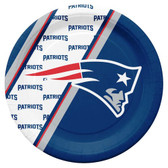 New England Patriots Disposable Paper Plates