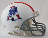 New England Patriots 1961-1964 Throwback Riddell Mini Football Helmet