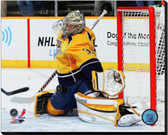 Nashville Predators Pekka Rinne 2012-13 Action 16x20 Stretched Canvas