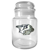 Nashville Predators 31oz Glass Candy Jar