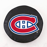 Montreal Canadiens Black Tire Cover, Large