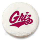 Montana Grizzlies White Tire Cover, Large