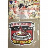 MLB Logo Patch - Cardinals Busch Stadium 2006 Inagural