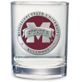 Mississippi State Bulldogs Double Old Fashioned Glass Set