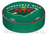 Minnesota Wild Bar Stool Seat Cover