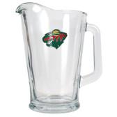 Minnesota Wild 60oz Glass Pitcher