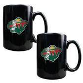 Minnesota Wild 2pc Coffee Mug Set