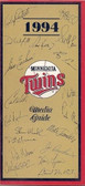 Minnesota Twins 1994 Media Guide