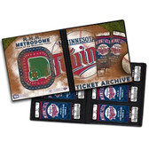 Minnesota Twins (Holds 96 Tickets) Ticket Album MLB
