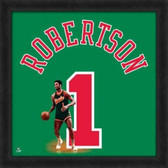 Milwaukee Bucks Oscar Robertson 20x20 Framed Uniframe Jersey Photo