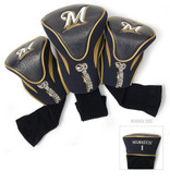 Milwaukee Brewers 3-Pack Contour Sock Headcovers