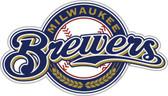 "Milwaukee Brewers 12"" Vinyl Magnet Set of 2"