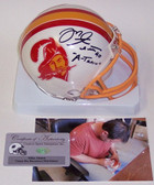 Mike Alstott Signed Tampa Bay Buccaneers Mini Helmet AMHTBT-ALSTOTT-ATRAIN