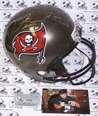 Mike Alstott Signed Tampa Bay Buccaneers Full Size Helmet