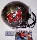 Mike Alstott Signed Tampa Bay Buccaneers Authentic Helmet