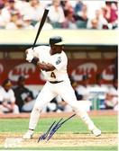 Miguel Tejada Oakland Athletics Signed 8x10 Photo #4