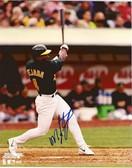 Miguel Tejada Oakland Athletics Signed 8x10 Photo