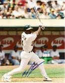 Miguel Tejada Oakland Athletics Signed 8x10 Photo #3