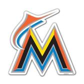 "Miami Marlins 12"" Vinyl Magnet"
