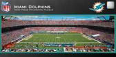 Miami Dolphins Panoramic Stadium Puzzle