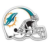 "Miami Dolphins 12"" Helmet Car Magnet - 2013"