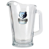 Memphis Grizzlies 60oz Glass Pitcher