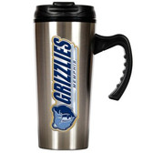 Memphis Grizzlies 16oz Stainless Steel Travel Mug