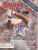 Matt Lawton Minnesota Twins Signed Sports Illustrated Cover