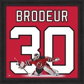 Martin Brodeur New Jersey Devils 20x20 Framed Uniframe Jersey Photo