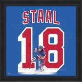 Marc Staal New York Rangers 20x20 Framed Uniframe Jersey Photo