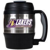 Los Angeles Lakers 52oz. Stainless Steel Macho Travel Mug with Bottle Opener
