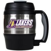 Los Angeles Lakers 52oz. Stainless Steel Macho Travel Mug with Bottle Opener