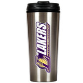 Los Angeles Lakers 16oz Stainless Steel Travel Tumbler