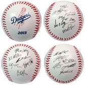 Los Angeles Dodgers 2013 Team Roster Signature Ball