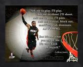 Lebron James Miami Heat 11x14 ProQuote Photo