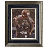 LeBron James Framed 16x20 Mosaic