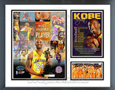 Kobe Bryant Los Angeles Lakers 2008 MVP Milestones & Memories Framed Photo
