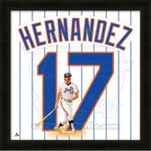 Keith Hernandez New York Mets 20x20 Framed Uniframe Jersey Photo