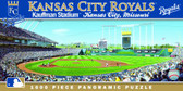 Kansas City Royals Panoramic Stadium Puzzle