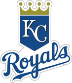 "Kansas City Royals 12"" Vinyl Magnet Set of 2"