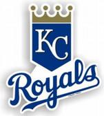 """Kansas City Royals 12"""" Car Magnet"""
