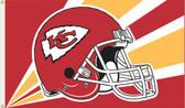 Kansas City Chiefs 3 Ft. x 5 Ft. Flag w/Grommets